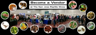 Booth Space - The San Jose Reptile Show - August 2018